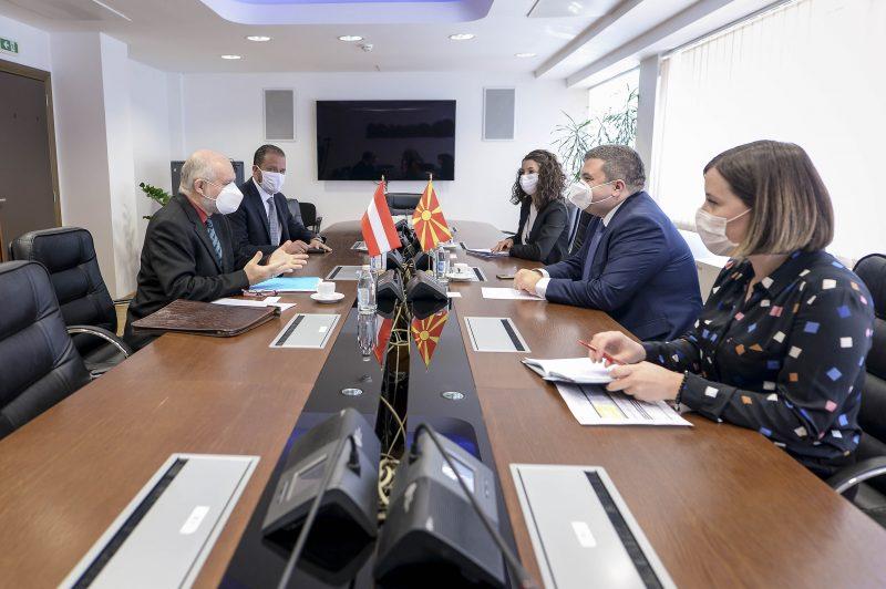 Поддршка од австрискиот амбасадор Вуцас за реформите во делот на правосудството