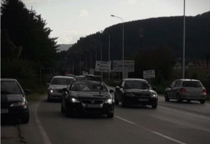 Кичевци протестираа против поскапувањето на струјата