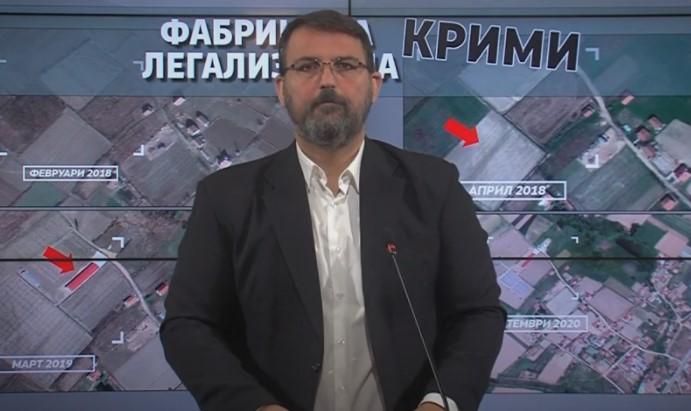 """(ВИДЕО) Стоилковски: """"Фабриката за крими-легализација"""" фатена во криминал тоне во лаги, ЈО да отвори истрага"""