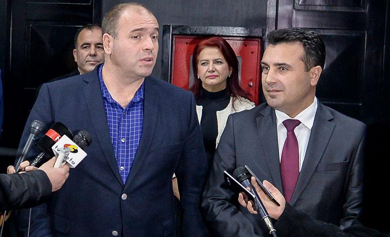 Заев во Куманово на средба со Димитревски