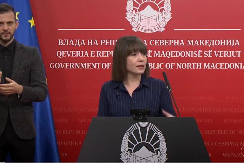 Царовска го објави ТВ распоредот на часови