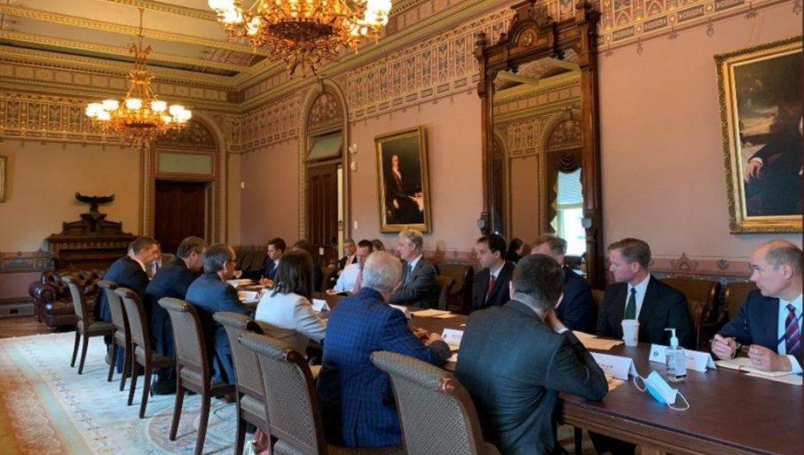 Дачиќ: Присуството на Трамп на средбата во Вашингтон ќе биде гаранција за потпишаното