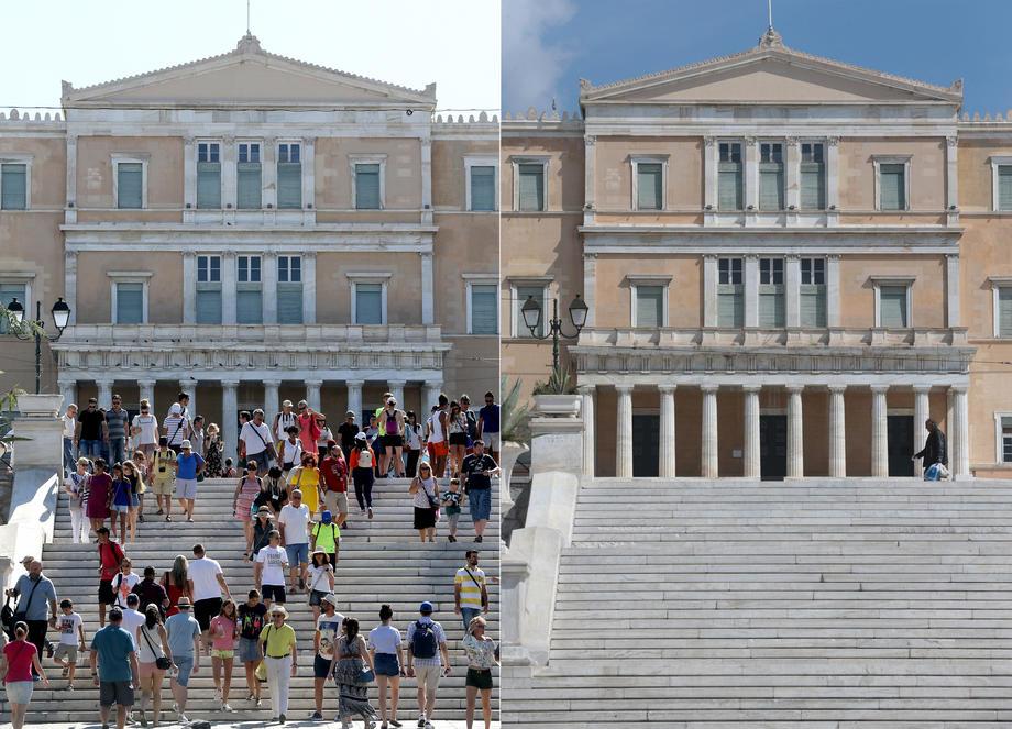 Грчките власти не исклучуваат нов режим на строга изолација