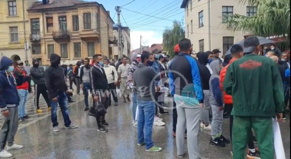 (ВИДЕО) Протест против полициската бруталност во Битола