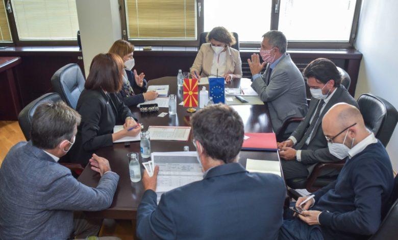 Шахпаска-Бертолини: Заеднички ќе работиме на поголема искористеност на ИПА фондовите