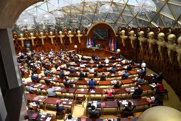 Се злоупотребува европското знаменце и за Законот за рамномерен регионален развој, обвини опозицијата