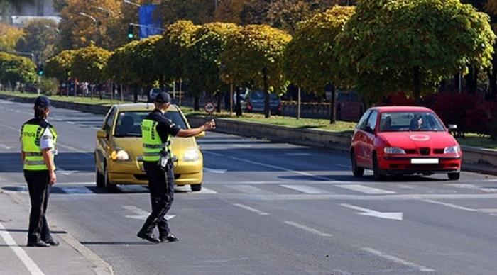 Вчера казнети 438 возачи во Скопје