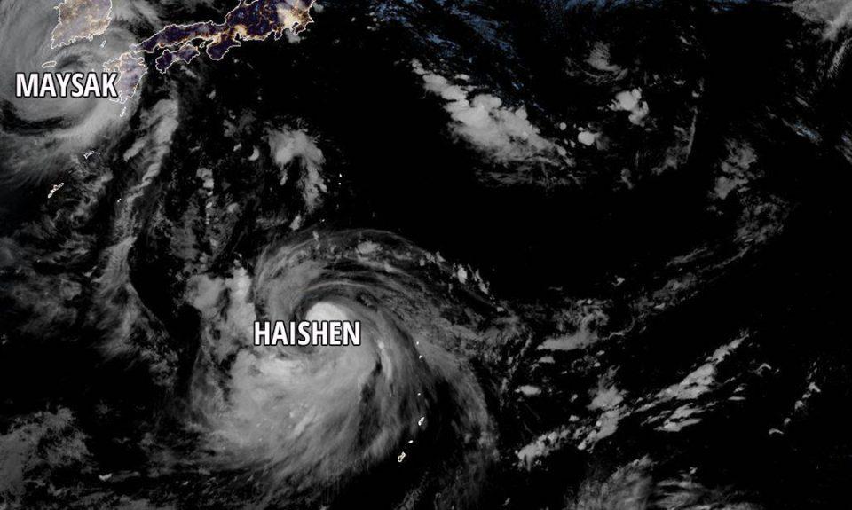 Силен тајфун се движи кон јапонските острови Окинава