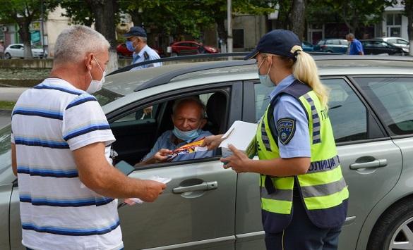 """Кампања """"Вози одговорно"""" во Кочани"""