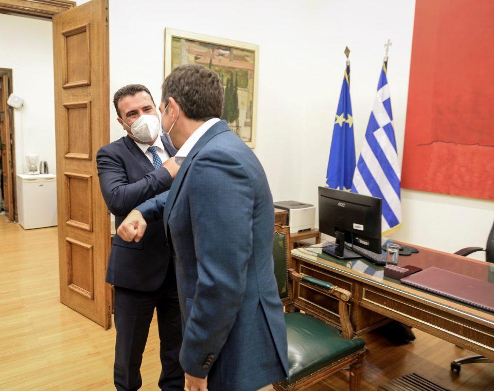 Заев-Ципрас: Договорот од Преспа не е само решение за спорот за името, туку и за долгорочно стратешко партнерство