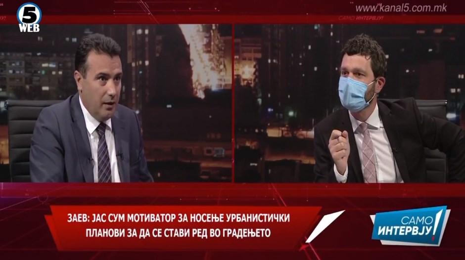 (ВИДЕО) Заев призна оти ги насочил советниците во Тетово така да гласаат за новиот ДУП