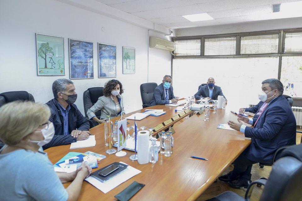 Маричиќ на средба со членовите на ДКСК: Да се зајакнат капацитетите на Антикорупциска