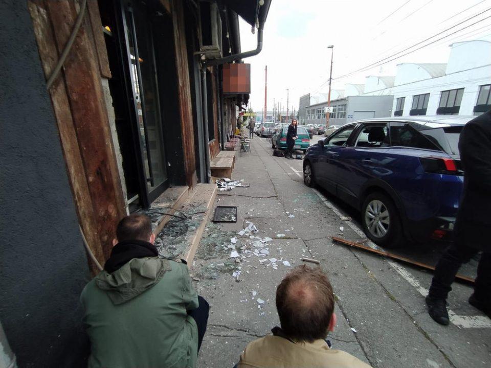 Фрлена бомба во ресторан во центарот на Белград