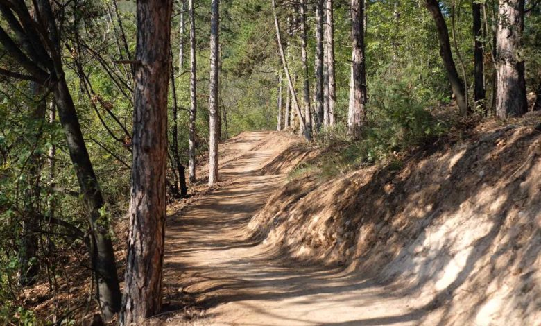 Нова пионерска велосипедска патека на Водно