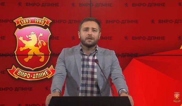 """Арсовски: Димова доделила 125 илјади евра за проектот """"Избери сирење"""" на брат на пратеник од СДСМ"""