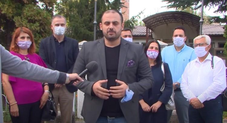 (ВИДЕО) Ѓорѓиевски: Бараме повлекување на предлог постапката за ДУП-от во Расадник