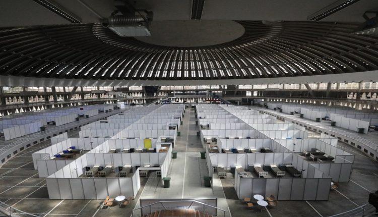 Белградска арена од утре подготвена за пациенти со Ковид 19