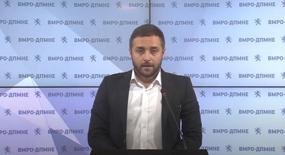 Арсовски: Одлуките што ги носи Филипче се политички за да може СДСМ да добие корист кај граѓаните