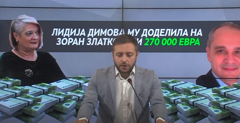 (ВИДЕО) Арсовски: Лидија Димова веднаш да си поднесе оставка