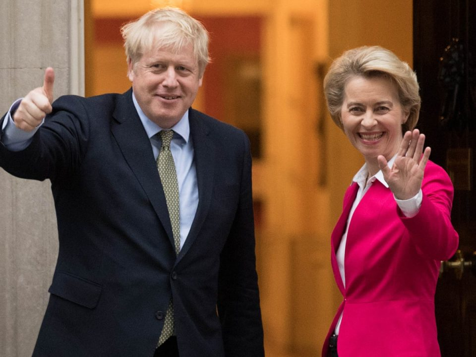 ЕУ и Велика Британија денеска ќе го потпишат трговскиот договор