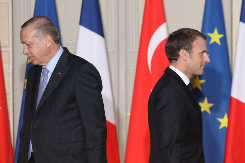 Франција го повлекува амбасадорот од Турција поради изјавата на Ердоган