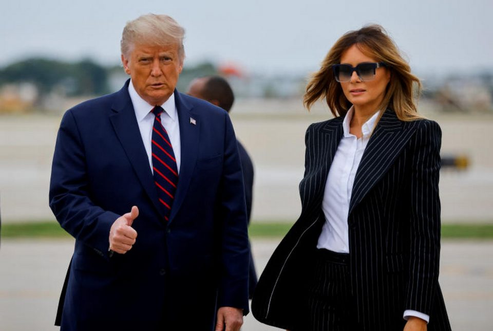 Си-Ен-Ен: Меланија бара развод од Доналд Трамп