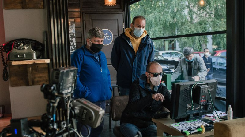 "СКОПЈЕ ФИЛМ СТУДИО ПОСТАВУВА СТАНДАРДИ: Филмот ""Мими"" се снима по Ковид протоколи"