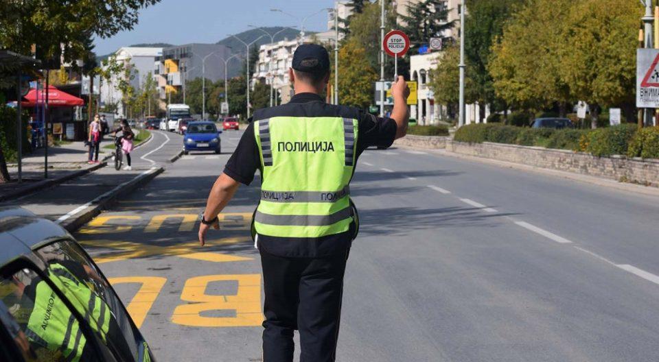 Санкционирани 272 возачи во Скопје, од кои 89 за пречекорена брзина