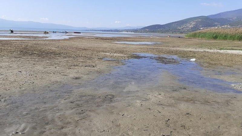 Алармантно: Преспанското Езеро има најниско ниво во последните 100 години