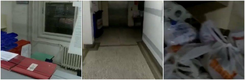 (ШОКАНТНО ВИДЕО) Пациентите оставени без храна, Ковид-центарот празен!