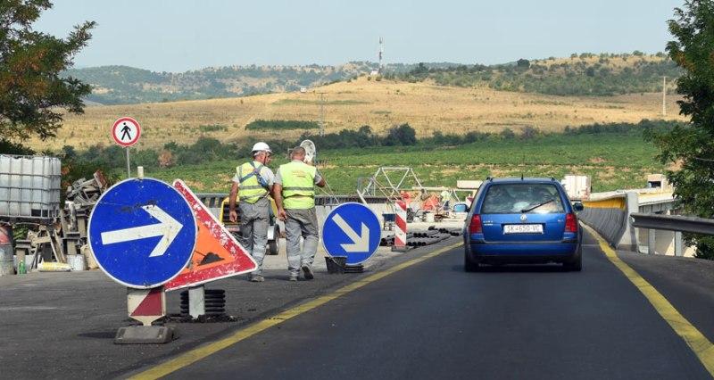 Во прекин сообраќајот на патот Гостивар-Чајле
