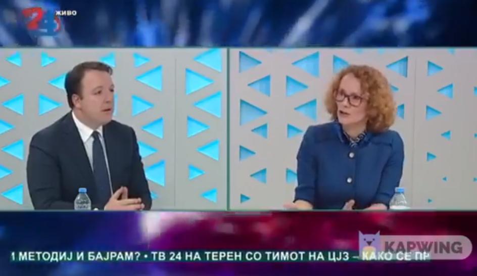 Николоски: Заев и Шекеринска и денес не знаат кога ќе почнат преговорите, затоа што датум за преговори нема