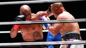 (ВИДЕО) Тајсон покажа дека не заборавил да боксува, Џонс извлече реми