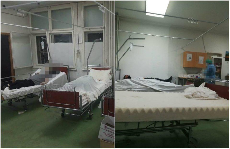 (ЕКСПЛИЦИТНИ ФОТОГРАФИИ) Лешеви од починати се оставаат помеѓу живи пациенти во битолската болница-се бара оставка од Филипче!