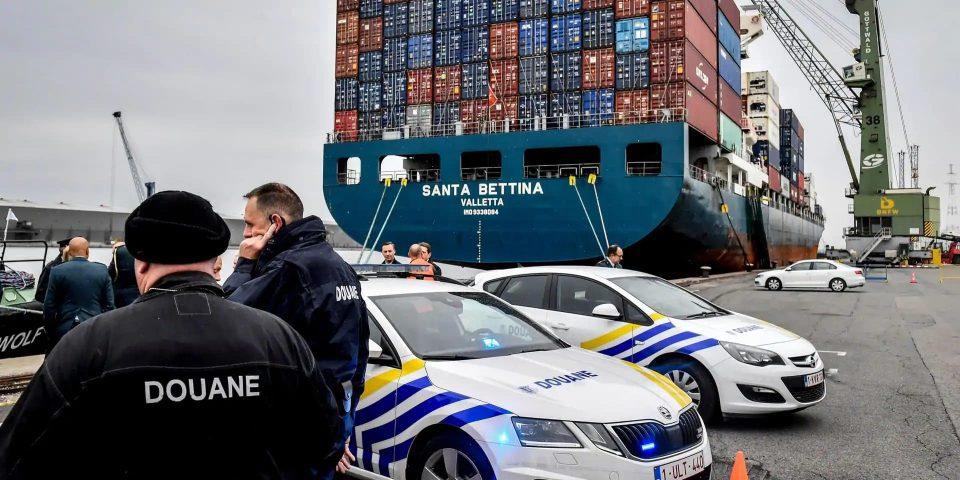 (ФОТО) Запленети 11,5 тони кокаин во Белгија