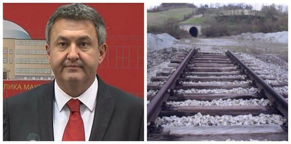 Хари Локвенец: До 2025 ќе биде готова железницата до Бугарија