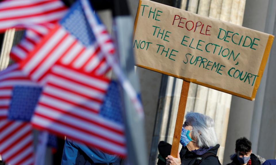 Судот ја одби жалбата на Трамп во Мичиген