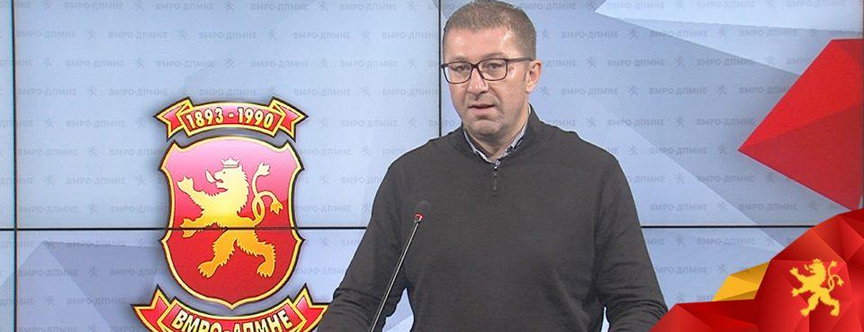 (ВИДЕО) Мицкоски: Во скандалозното интервју Заев прави чекор кон откажување од малцинството