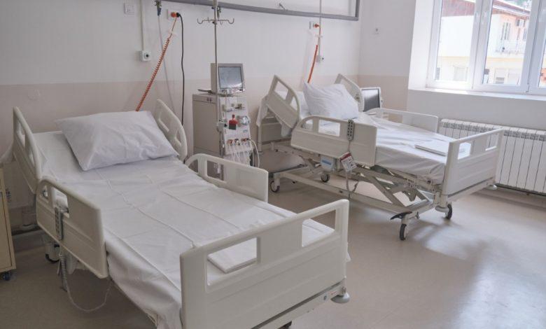 На инфективните одделенија во земјава се лекуваат 812 пациенти, има слободни кревети