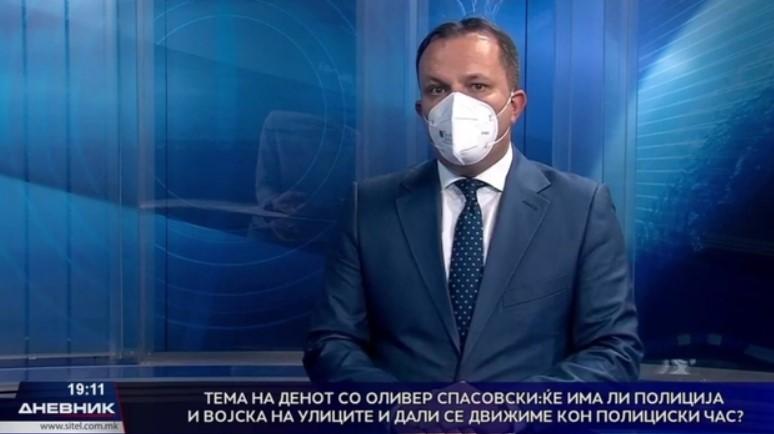 Спасовски: Полицискиот час се уште стои како опција, иако во моментот нема потреба