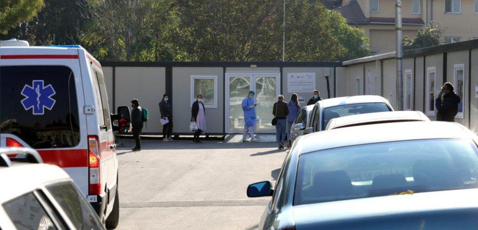 За едно деноноќие хоспитализирани 44 нови пациенти во ковид центрите во Скопје