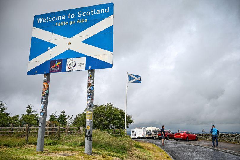 Забрана за патување помеѓу Шкотска и остатокот од Велика Британија