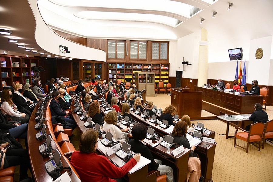 Седница на Комисијата за политички систем и односи меѓу заедниците