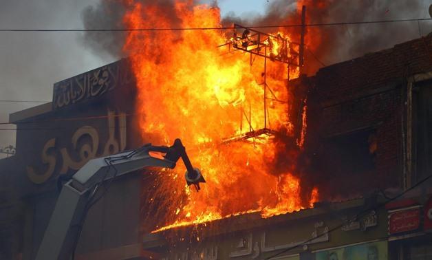 Трагедија: При пожар во египетска Ковид болница загинаа седум пациенти