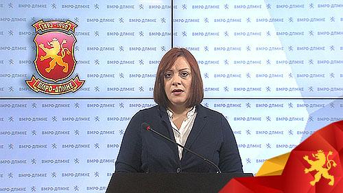 Димитриеска-Кочоска: Бесими манипулира, се задолживме со иста камата како и другите, но на пократок рок
