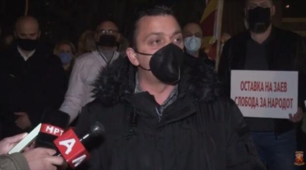 Карапетров од Тетово: Доста е со распродавање и понижување на Македонија, Заев оди си