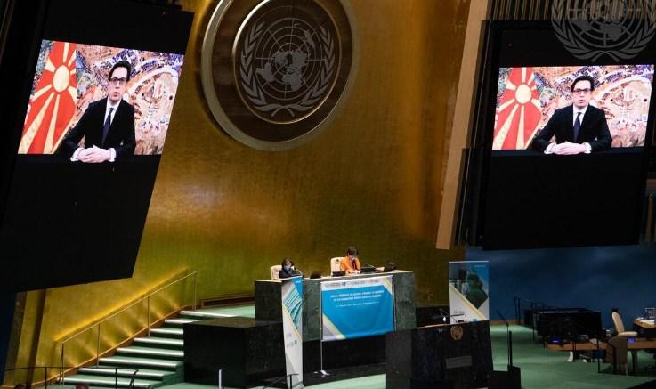 Пендаровски пред ОН: Пандемијата како системска закана бара системски одговор