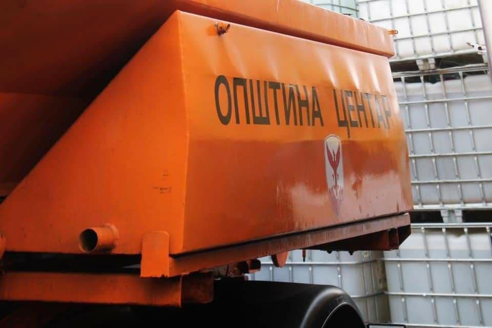 """Општина Центар со седум возила ќе чисти снег: Склучен договор со компанијата """"Анизор"""""""