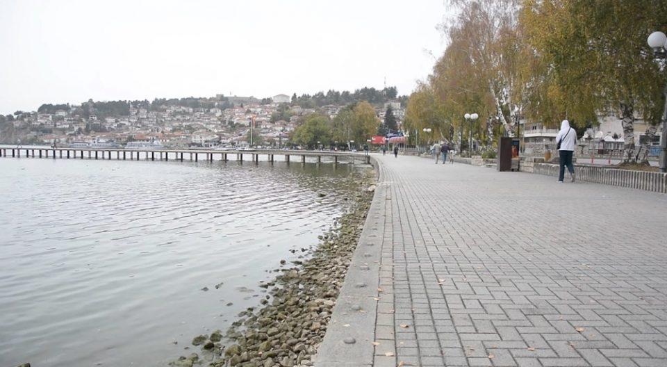 Нивото на Охридското езеро 2 сантиметри под минимално дозволена кота