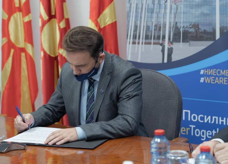 Османи: Северна Македонија активен чинител во спроведување на политиките на НАТО